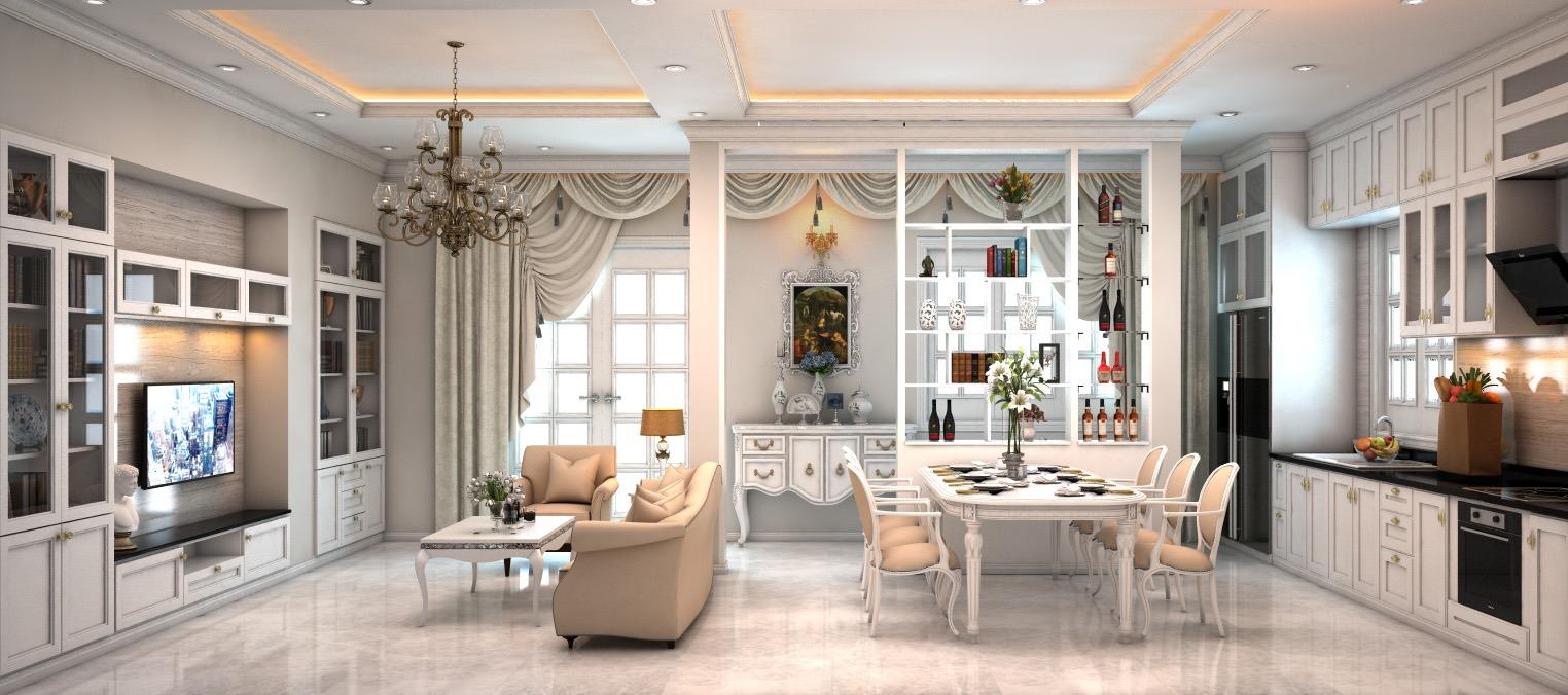 Đắm mình trong vẻ đẹp của ngôi nhà phố với thiết kế nội thất hiện đại tinh tế tại Quận Tân Bình