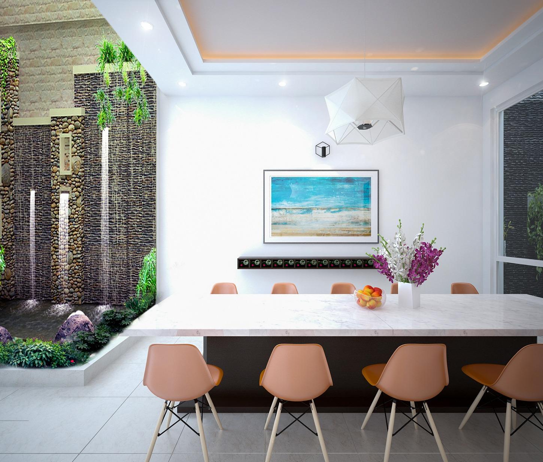 Thiết Kế Nội Thất Nhà Phố Hiện Đại Đẹp Tại Tân Phú
