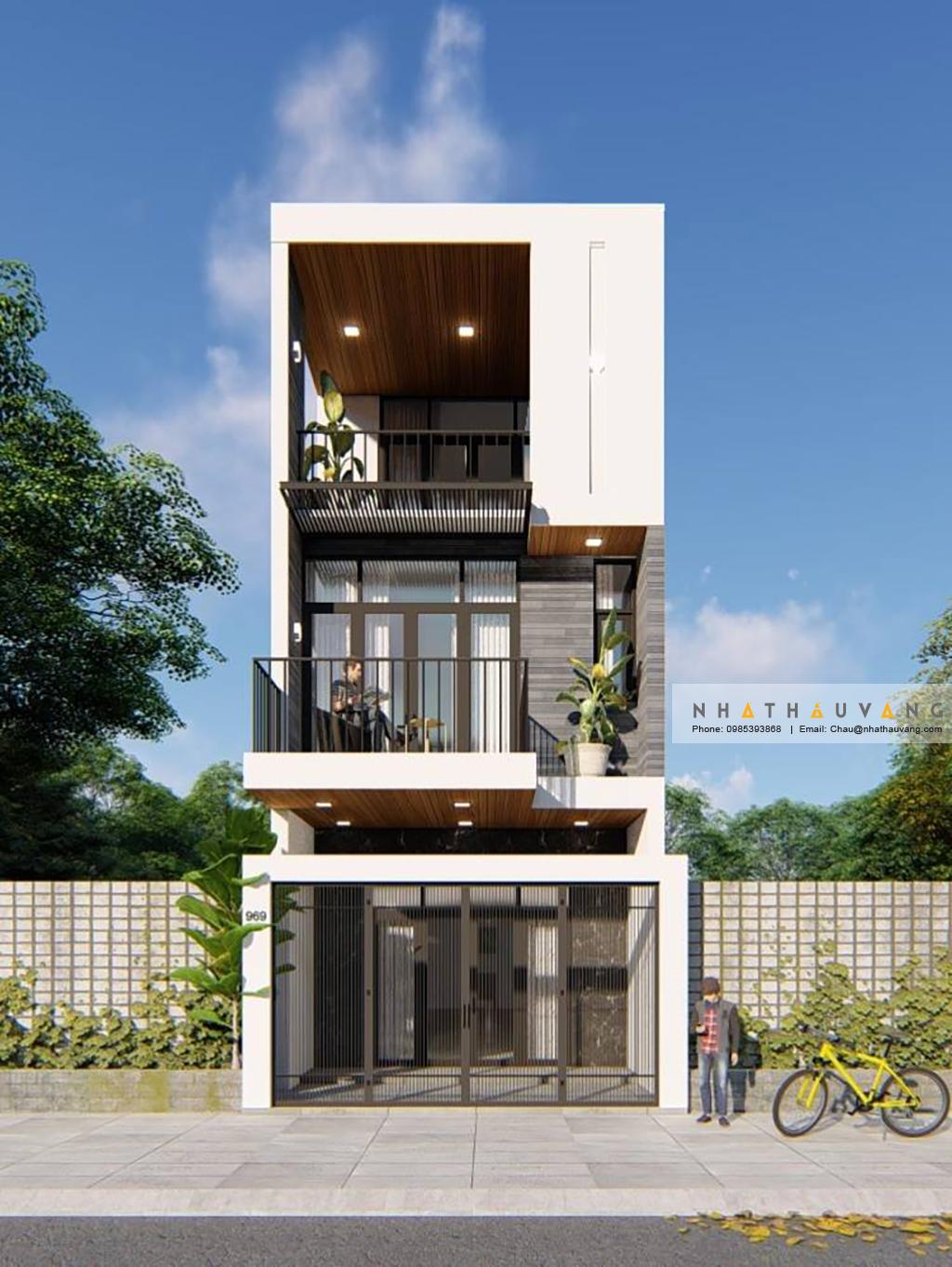 Nhà phố với không gian xanh tại Đà Nẵng